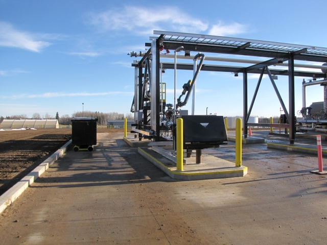 Oil and Gas Construction Truck Rail Terminal
